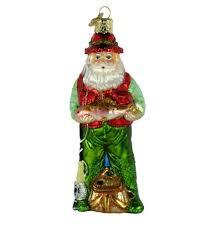vintage ornament santa claus