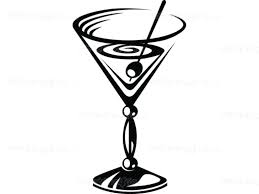martini shaker clip art wall arts cocktail kitchen wall decals martini wall art martini