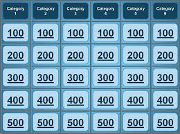 jeopardy powerpoint template great for quiz bowl catechism bible