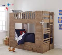 Barn Bunk Bed Storage Bunk Bed Pottery Barn