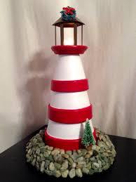 clay pot lighthouse crafts pinterest clay pot lighthouse