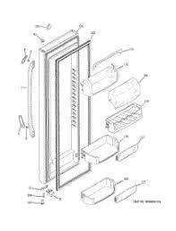 parts for ge dsf25kgtabg refrigerator appliancepartspros com
