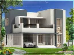 Simple Green House With Flat Roof House Designs Kunts Simple 4 Bedroom House Designs