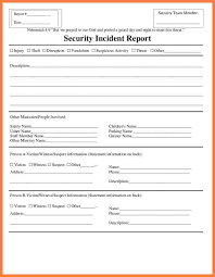 incident report form template word security incident report form template progress report security