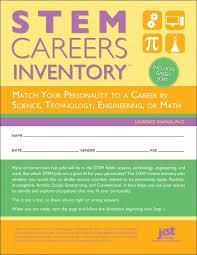 stem careers inventory jist career solutions
