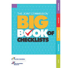 big book the joint commission big book of checklists joint commission