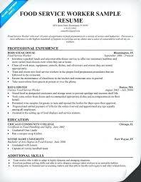 resume exles objective customer service sles for resume food service resume sles sle resumes sle