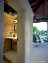 Pool Bathroom Ideas Pool House Bathroom Awning Windows Pool House Bathroom