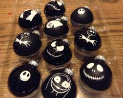image result for nightmare before ornaments