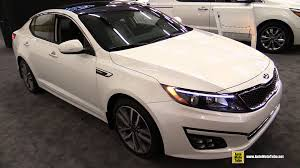 2015 kia optima sx turbo exterior and interior walkaround 2015