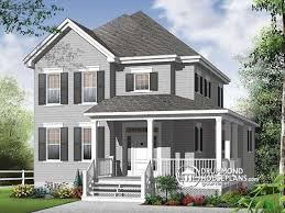 porches on one story farmhouse plans with porches home design