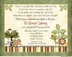gift card wedding shower invitation wording jingle baby shower invitation custom wording boy