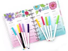 color of happy gift ideas classic color your world happy planner mini