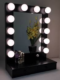 Table Vanity Mirror Surprising Small Vanity Mirror With Lights Pictures Best