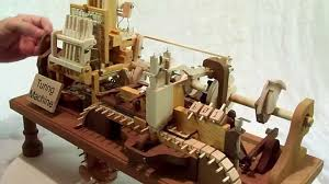 Can You Make A Computer Out Of Wood by Mechanical Turing Machine In Wood Youtube