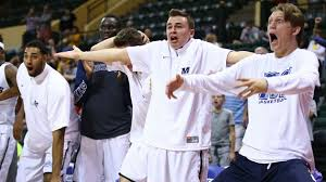 basketball bench celebrations monmouth basketball creates hilarious bench celebrations 101 video