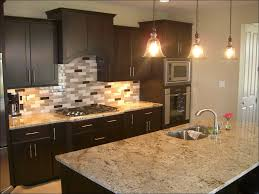 kitchen stacked stone backsplash installation grey backsplash