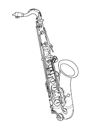 tenor saxophone drawings yahoo image search results tees