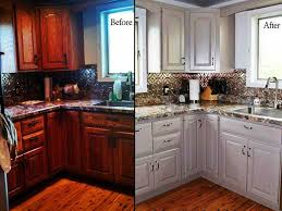 Chalk Paint On Kitchen Cabinets Outstanding Chalk Paint Kitchen Cabinets Before And After Trends