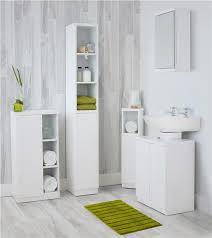 Cheap Bathroom Storage Units Grey Or White Gloss Bathroom Storage Unit Ebay
