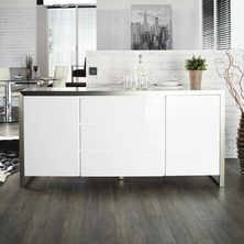 High Gloss Sideboards Uk Sideboards Contemporary Dining Room Furniture From Dwell