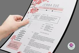 Resume Sample Hk by Floral Resume Template Resume Templates On Thehungryjpeg Com 1506