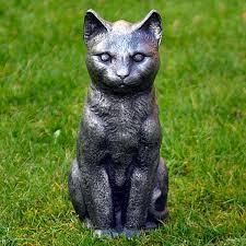 garden ornaments metal cat garden ornament garden sculptures