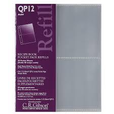 photo album inserts for 3 ring binder qp12 pocket page refills for qp12 pocket page recipe book