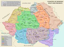 Romania Map Places To See In Romania Map