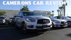 lexus gx vs infiniti qx60 2016 infiniti qx60 3 5 l v6 review camerons car reviews youtube