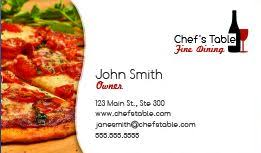 Design Your Own Business Cards Free Online Food Industry U0026 Restaurant Business Cards For Free