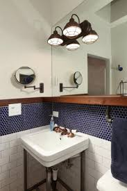 Bathroom Accents Ideas Best 25 Blue Penny Tile Ideas On Pinterest Shower Niche Master