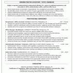 resume for office manager objective resume templates operations