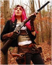 Zombie Hunter Costume A Steampunk Zombie Hunter Costume Costumemodels Com