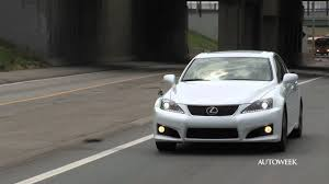 2011 lexus isf for sale 2011 lexus is f an autoweek drivers log