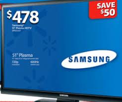 inch plasma tv deal in walmart black friday 2012 ad is a