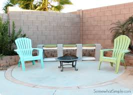 How To Build A Shooting Bench Out Of Wood How To Make A Cinder Block Bench Somewhat Simple