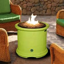 Copper Firepit California Outdoor Concepts Island 28 Inch Propane Pit Lime