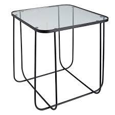 bout de canapé m bout de canape verre maison design wiblia com