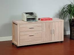 amazon com smart home attwell file credenza mobile file cabinet