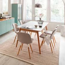 Scandinavian Dining Room Furniture Scandinavian Design Dining Table Oak Laminate Rectangular