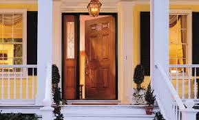 Steel Or Fiberglass Exterior Door Alluring Fiberglass Entry Door Of Steel Doors Pella Home