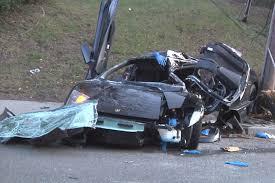 lamborghini crash lamborghini driver fatally crashes into telephone pole new york post