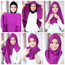 tutorial hijab segi empat paris simple 25 kreasi tutorial hijab segi empat simple terbaru 2018