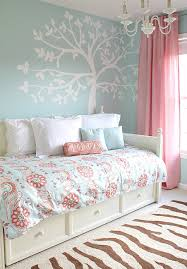 Blue Bed Sets For Girls by Emma Turquoise And Coral Bedding Set Full Queen 3pc Lightweight