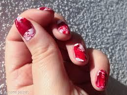 halloween nails avec nail polish is peachy