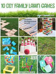 10 diy family lawn games sweet anne designs