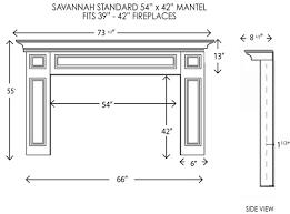 wood fireplace mantels fireplace surrounds savannah standard
