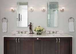 espresso double vanity contemporary bathroom benjamin moore