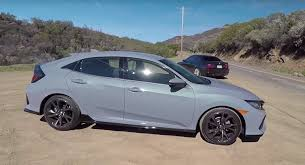 cheap tires for honda civic 2017 honda civic hatchback with manual gets tire review
